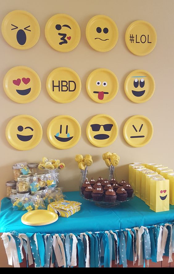 Easy DIY Emoji Birthday Party Ideas For Kids