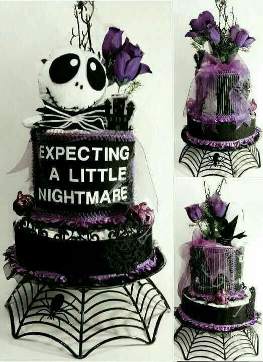 Expecting a Nightmare Cake