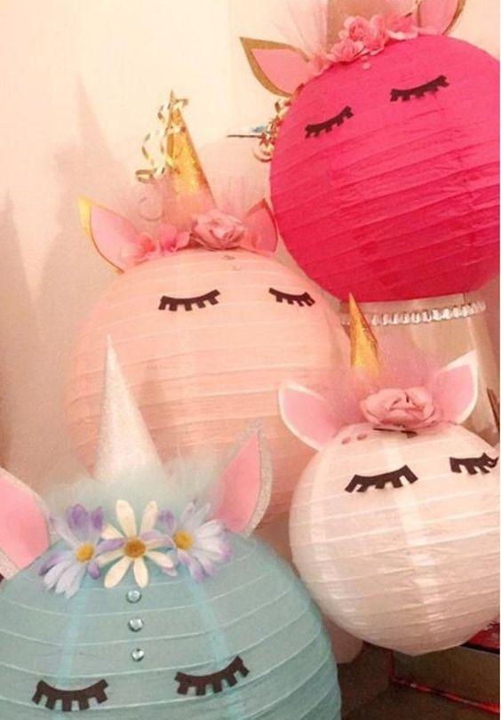 Unicorn Lanterns