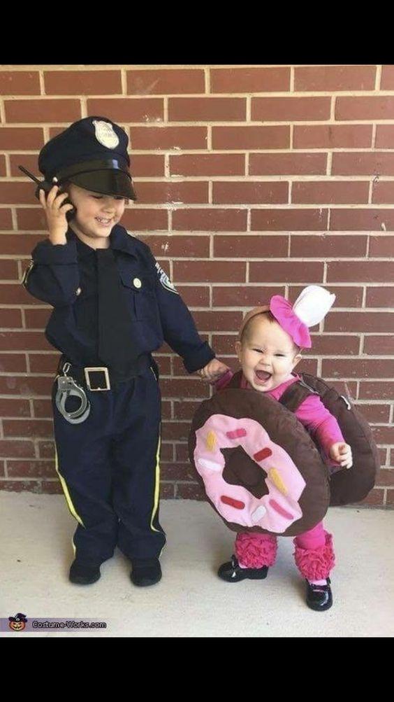 Cop & Doughnut