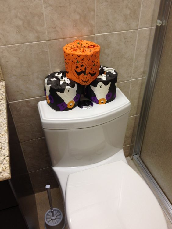 Spooky Toilet Paper