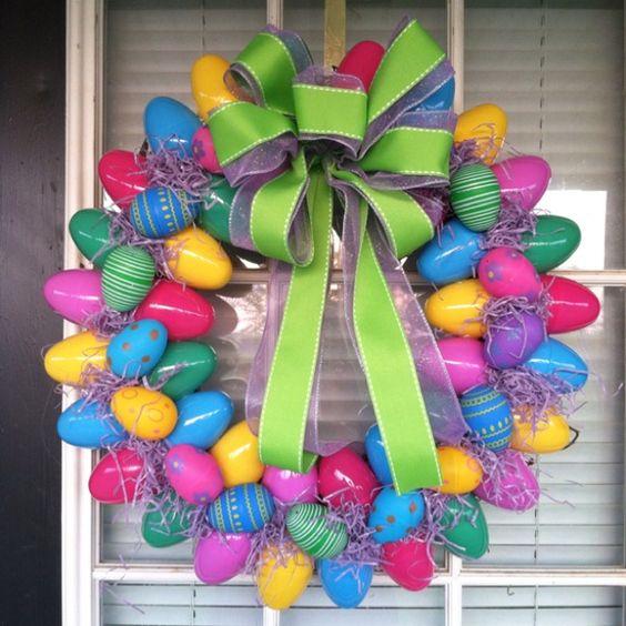 Easy DIY Easter Wreaths for Front Door