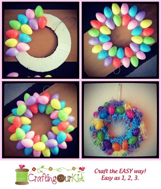 How To Bring Summer Vibes Into Your Home 6 Color Ideas: Easy DIY Easter Wreaths For Front Door