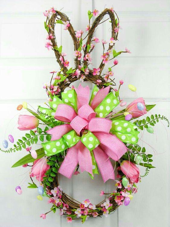 Easter Wreaths for Front Door