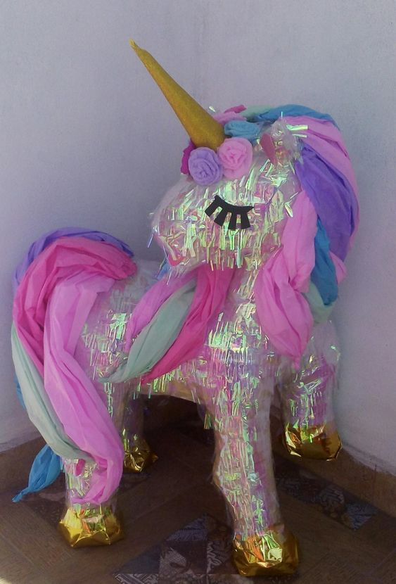 Shiny Unicorn Pinata