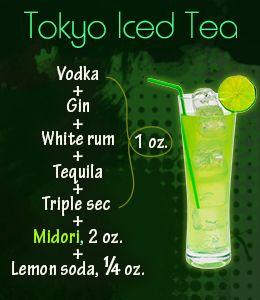 Tokyo Iced Tea
