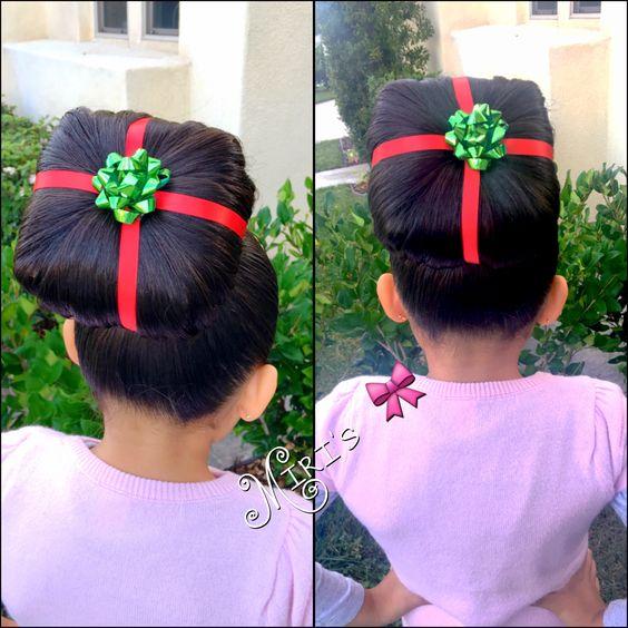 Diy Crazy Christmas Hair Day Ideas Party Wowzy
