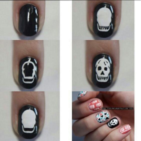 Step by Step Skull