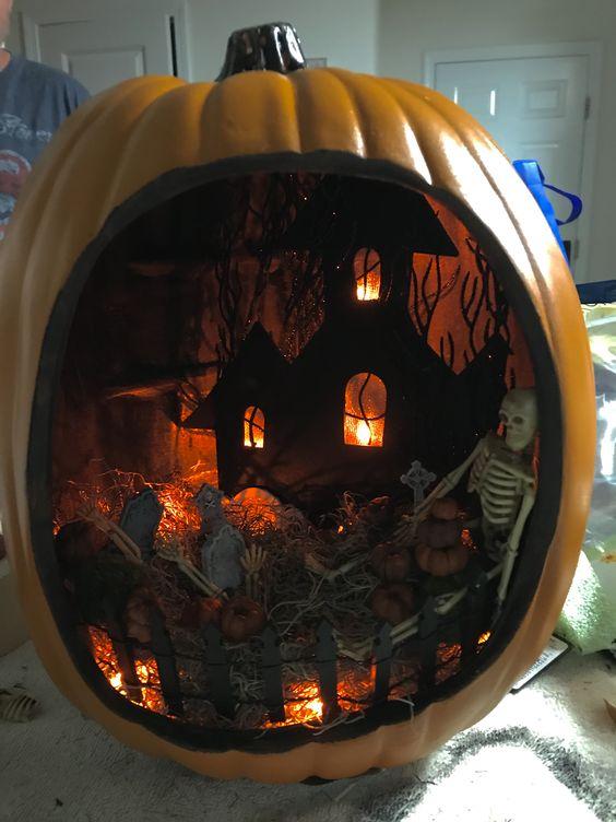 Halloween Diorama Ideas