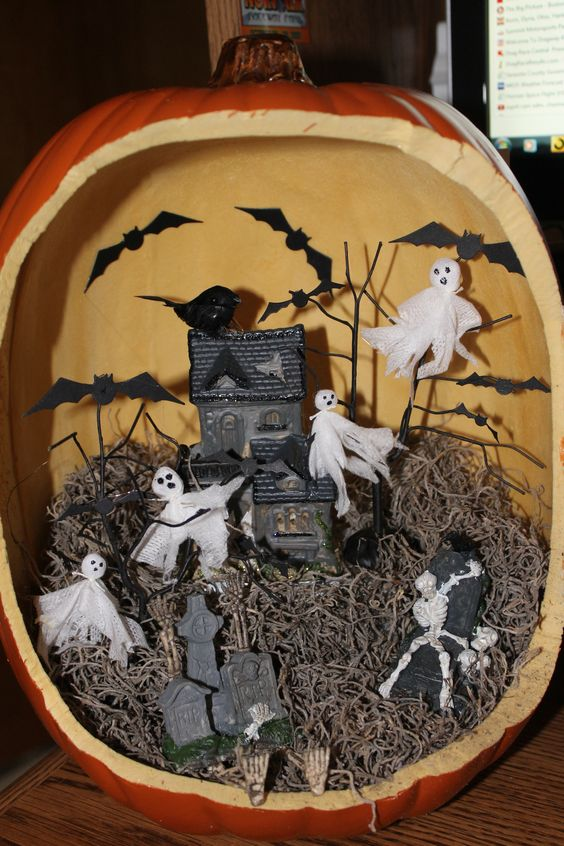 Haunted House Diorama