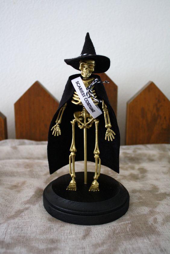Scariest costume award