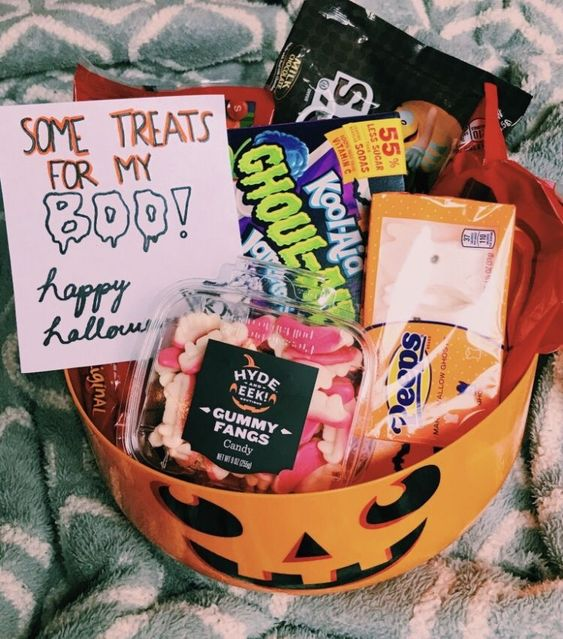 Care Package for Halloween