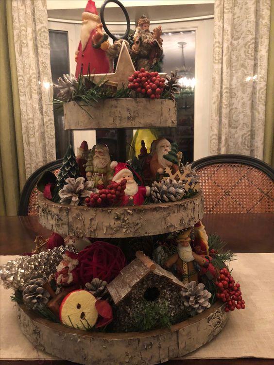 Christmas Tier stand