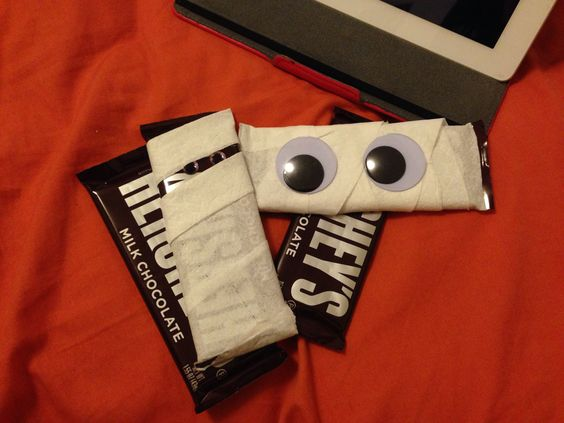 Hershey Bar Mummies