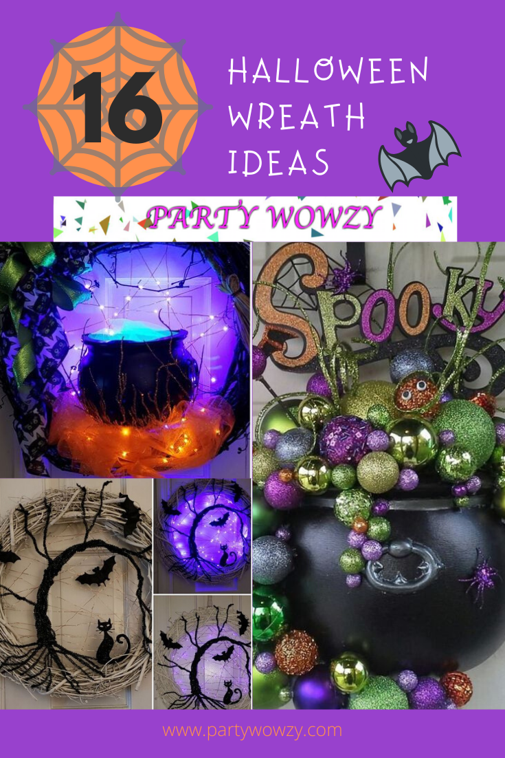 Diy Halloween Wreaths For Front Door Party Wowzy