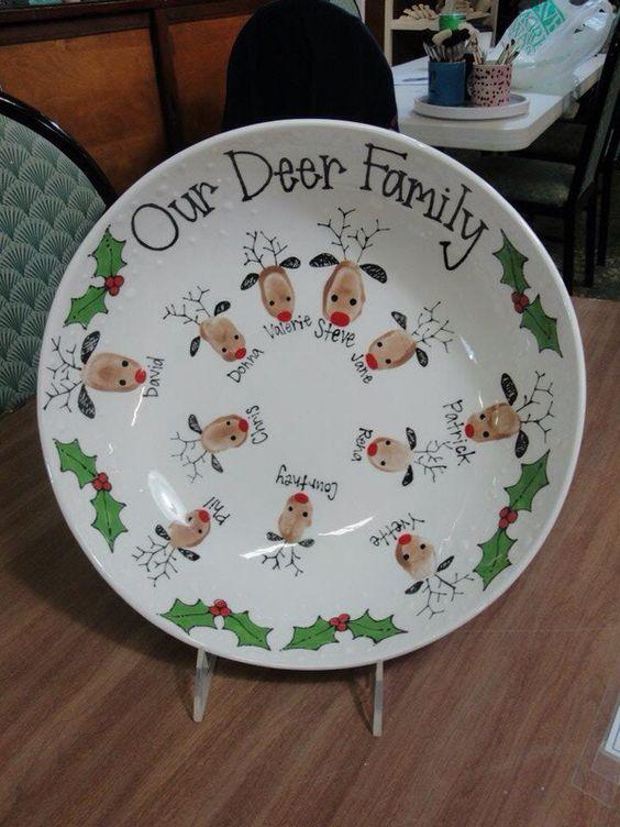 Christmas Plates Kids