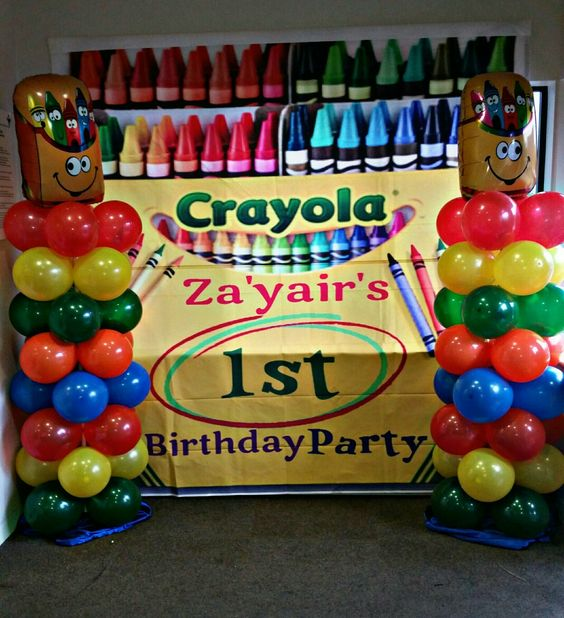 Crayon Party Ideas