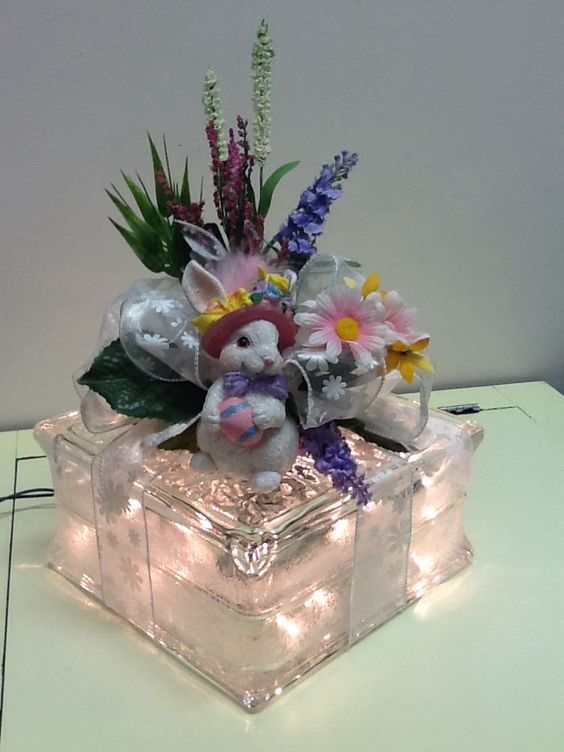 Easter Glass Block Ideas
