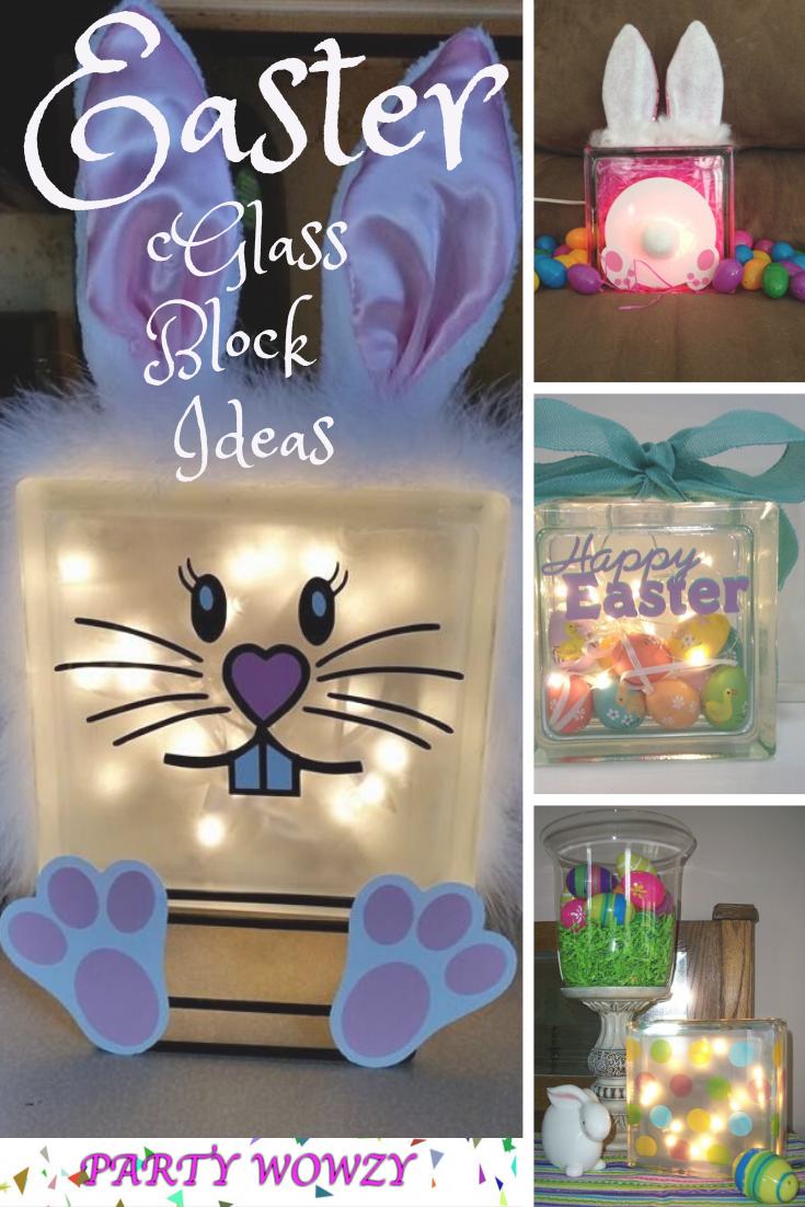 Easter Glass Block Ideas