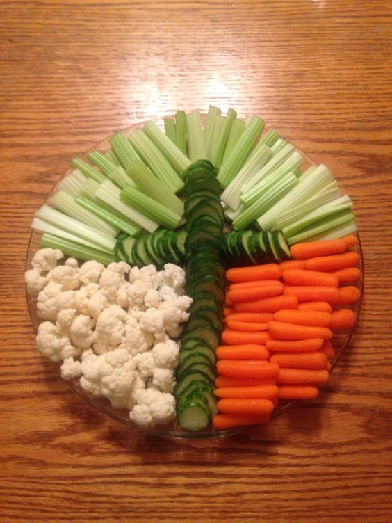 Easter Veggie Tray Ideas