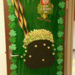 St Patricks Day Classroom Door Ideas