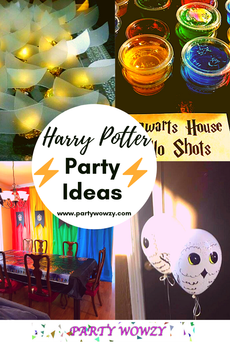 Harry Potter Halloween Party Ideas
