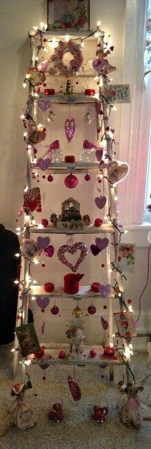 Valentines Ladder Ideas