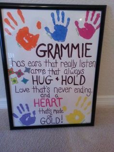 Mothers Day Craft Ideas for Grandma